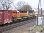 BNSF 2036 BNSF 2457