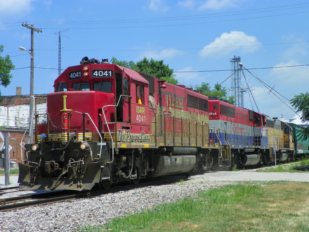 ISRR 4041 leadin WB Indiana Local