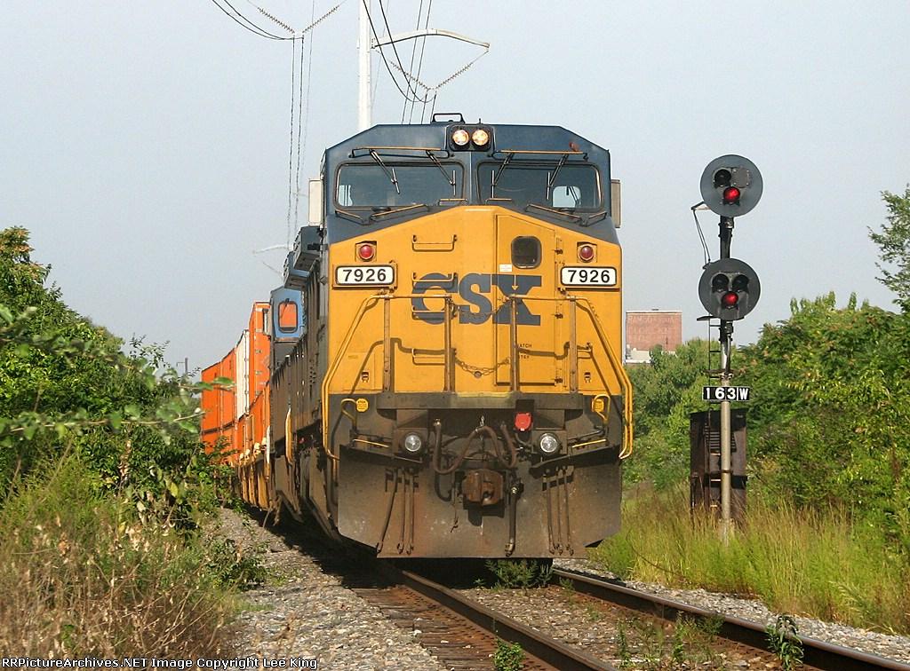 CSX 7926 Q190-14