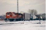 CP Rail at SK Yard