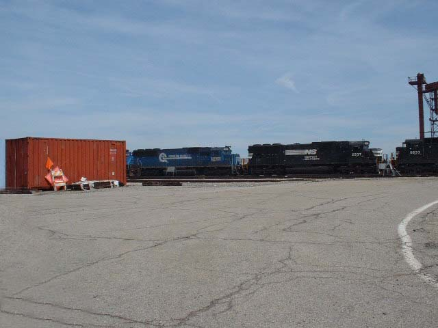 Engines at Buckeye Yard