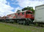 G22U ALL 4405 In Curitiba x Rio Branco Railway.