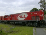 G22U ALL 4310 In Curitiba x Paranagua Railway.