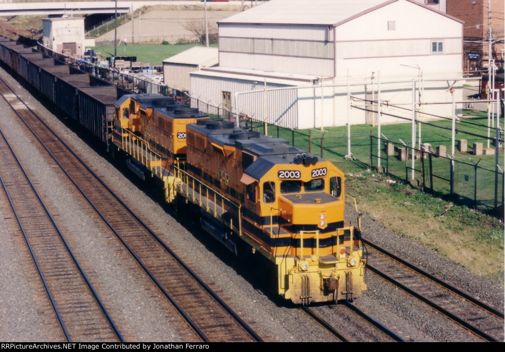 Buffalo & Pittsburgh GP38s