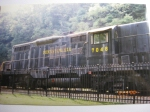 PRR 7048 at the Horseshoe Curve