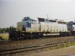 KCS 601 leads a military train