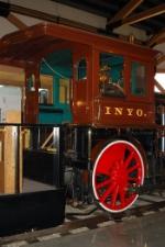 """Virginia & Truckee Railroad (VT) 4-4-0 Steam Locomotive No. 22 """"Inyo"""""""