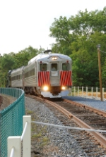 First train on the new Richland siding