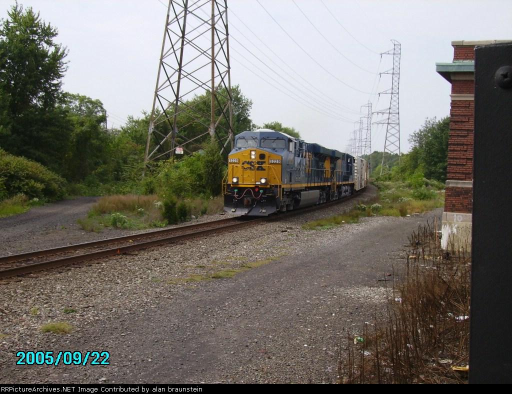 CSX Juice train in the PM