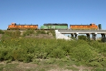 BNSF 1278, 3147, and 1276