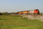 BNSF 724, 4390, and 5366