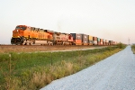 BNSF 7434 and BNSF 655