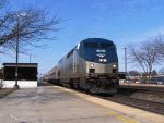 Illinois Zephyr departs