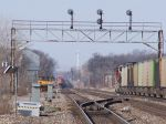 Coal heads west, intermodal starts east