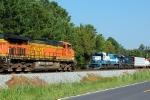 NS 733 & NS 175 meet