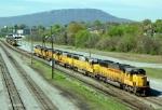 HLCX Locomotives stored