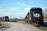 NS locomotives stored