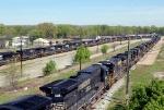 NS Locomotives in storage