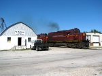 The A&M Monett Turn flies through the town of Purdy
