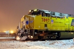 UP #7897 waiting in the snow