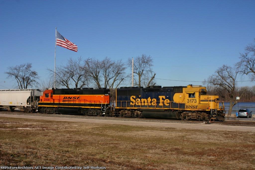 BNSF 3173