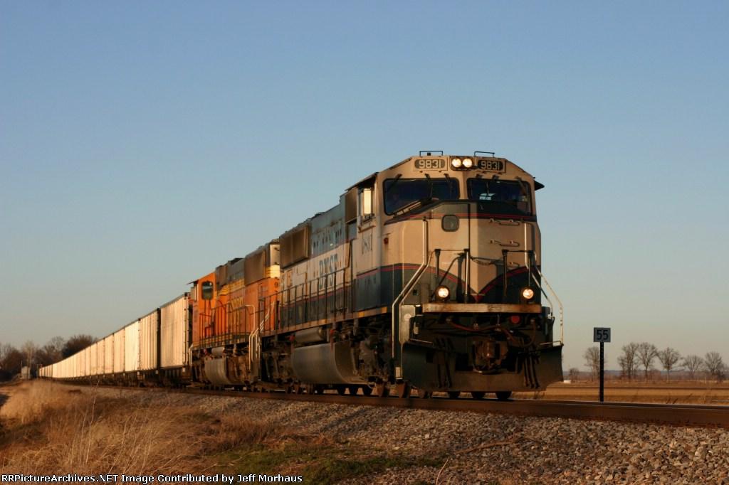 BNSF 9831