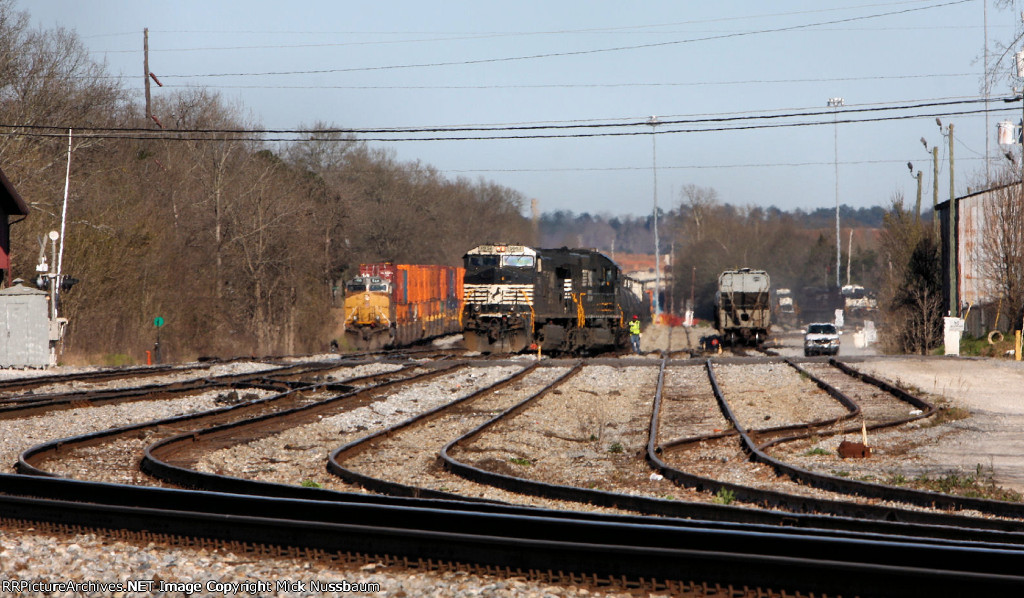 South end of the NS yard