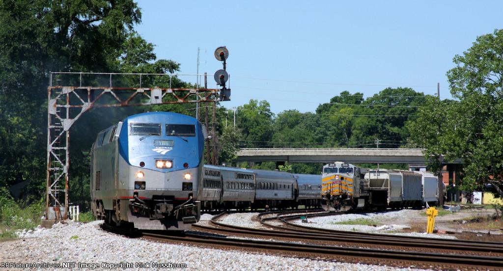 Train #20 the Amtrak Crescent