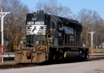 Sitting at the ready on the Norfolk Southern fuel rack