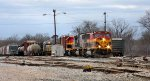 Busy KCS yard action