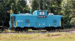 Siemens Caboose at the indutrial park