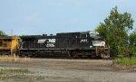 Stack train NS #225 to KCS ATDA passing through downtown