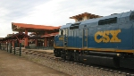CSX business train visits