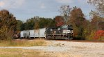 Norfolk Southern and rare fall colors