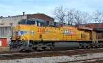 Union Pacific #2010 on the lead