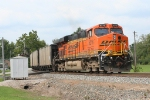 BNSF 6216 DPU on a north bound TXUX coal drag