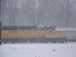 UP 3279 in the snow