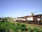 EFVM 1212 e EFVM 1120 num minerio rumo ao porto de Tubarao