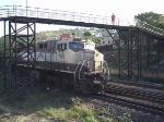 BB40-9WM 1188 embaixo da passarela em Governador Valadares