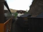 Traseira da BB40-9WM 1173 descendo para o Porto de Tubaro-ES