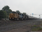 UP 9787 leads unit ethanol train east