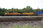 UP 4706 & UP 9155