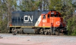CN (IC) #9621 at the yard office