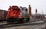 CN (IC) #9603 at North Jackson Yard