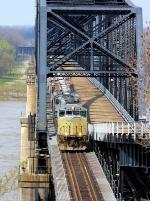 Local returning across the Mississippi River Bridge