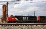 CN #5413 with a fresh paint job