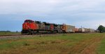 Northbound in the CN Yazoo Sub