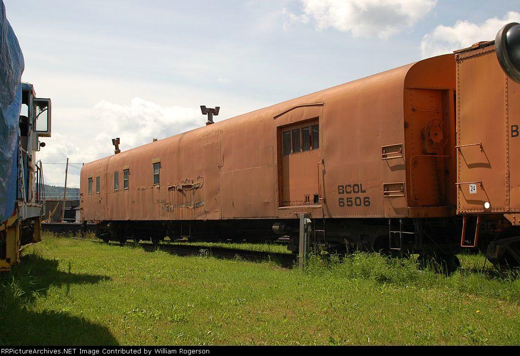 BC Rail, Ltd. (BCOL) Tool and Wash Car No. 6506