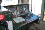 Engineer's Operating Position, BC Rail, Ltd. (BCOL) EMD GF6C No. 6001