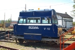 BC Rail, Ltd. (BCOL) Inspection Car No. V-10